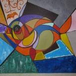 Продам картину рыба, Новосибирск