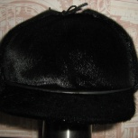 Продам шапку мужскую из нерпы, новая, р-р 58-59. Цена 3000р., Новосибирск