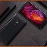 Смартфон Xiaomi Redmi Note 4X, 3/32Gb, цвет Matte black , новый, Новосибирск