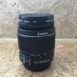 Продам объектив Canon ef-s 18-55mm macro 0.25m/0.8ft, Новосибирск