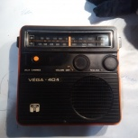 Радиоприемник Вега 404. 70х годов, Новосибирск