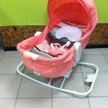 Электронный шезлонг-люлька Happy Baby Egoist., Новосибирск