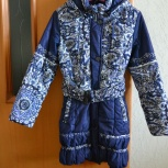 Продам демисезонное пальто на девочку., Новосибирск