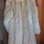 Продам шубу из белой лисы, Новосибирск