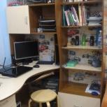 Компьютерный стол угловой правый, Новосибирск