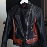 Кожаная курточка в отличном состоянии, р-р 40-42, Новосибирск