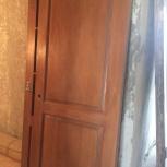 Продам межкомнатную деревянную дверь б/у, Новосибирск