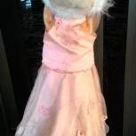 продам нарядное платье для девочки 6 лет, р-р 116, Новосибирск