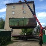 Cамогруз 11 т, стрела 7 т- 23 м. Негабарит, нестандартные грузы, Новосибирск