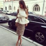 летний костюм: топ и юбка, Новосибирск