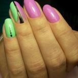 Укрепление натуральных ногтей, Новосибирск