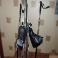 Продам лыжи с палками и ботинками 42 размера, Новосибирск