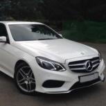 Прокат нового Mercedes-Benz E-Klass W212 на вашу свадьбу, Новосибирск