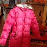 Демисезонная утепленная детская куртка Reebok для девочки, Новосибирск