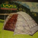 Продам  палатку 6 - 7 местную с тамбуром, Новосибирск