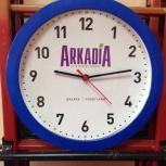 Нанесение логотипа на настенные часы, Новосибирск