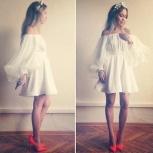 платье хлопок плюс органза, Новосибирск