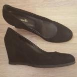 итальянские замшевые туфли, 38 р., Новосибирск
