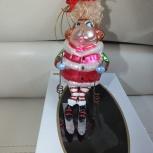 Продам елочную игрушку Обезьянка, Новосибирск