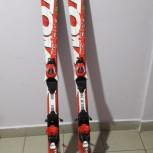 Продам горнолыжное снаряжение: лыжи, ботинки, палки., Новосибирск