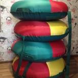Продам! Санки плюшки-ватрушки (тюбинг), Новосибирск