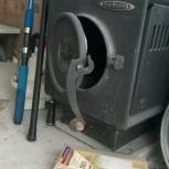 продам печь Золушка Термофор с утепленным дымоходом, Новосибирск