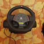 Руль для игр с педалями, Новосибирск