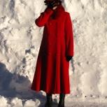 Продам пальто зимнее красное, Новосибирск