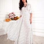 платье из шелка в горох, Новосибирск