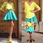 комплект юбка и блузка из хлопка, Новосибирск
