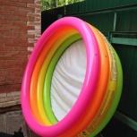 Продам новый детский надувной пластиковый бассейн, Новосибирск
