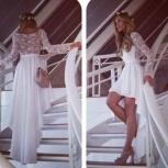 платье из кружева и трикотажа, Новосибирск