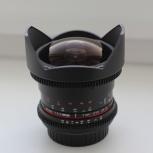 Объектив Samyang 8mm f/3.8 Fish-eye CS II Canon ФИШАЙ, Новосибирск