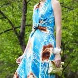 Платье из шелка размер 44 (коктейльное платье или вечернее платье), Новосибирск