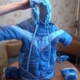 зимние комбинезоны 3 штуки разные есть на пуху и 2 демисезонных, Новосибирск