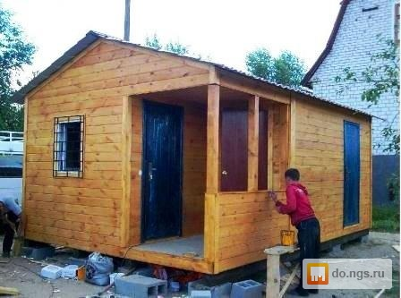 Как сделать садовый домик из вагончика