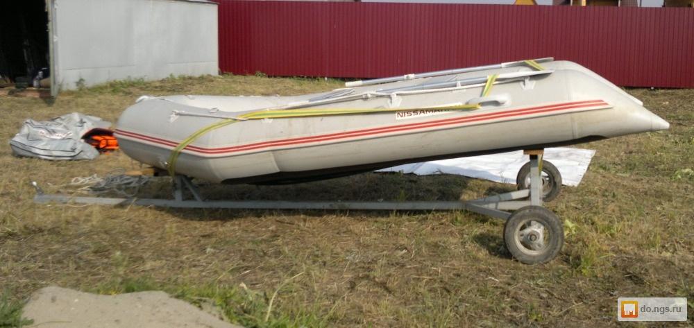 полуприцеп для лодки пвх