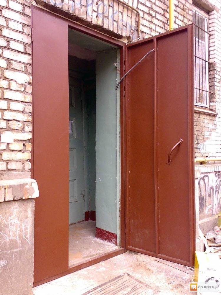 металлические двери в подезде