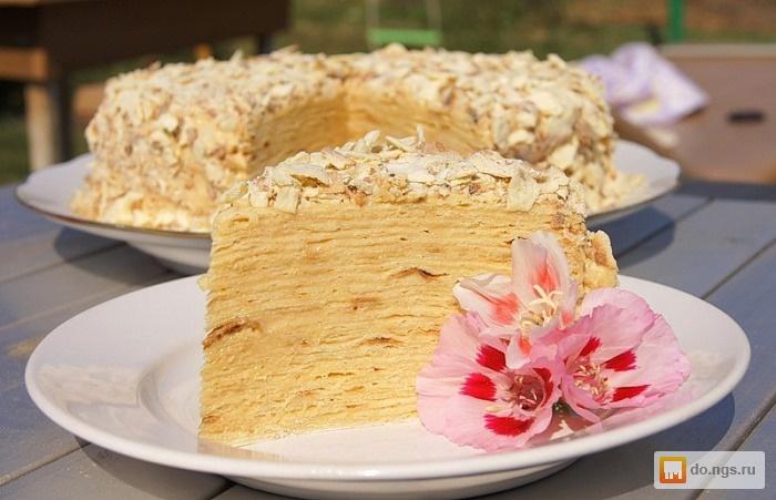 торт наполеон классический фото-рецепт