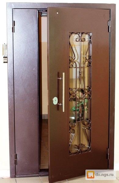 тамбурные входные двери домофоны