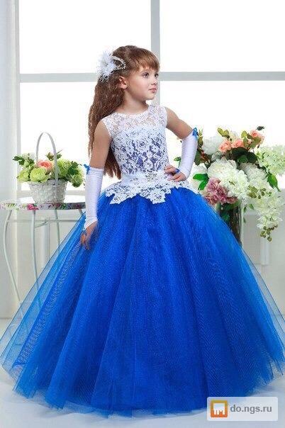 Красивые детские выпускные платья