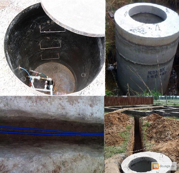 Скважина своими руками из канализационных труб