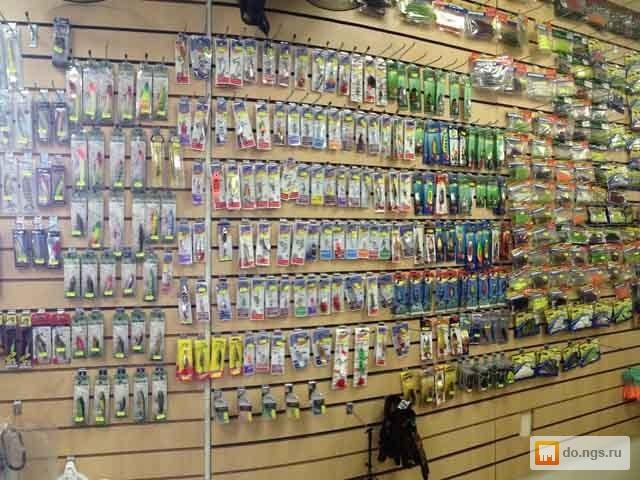 магазин рыболовных товаров в новосибирске