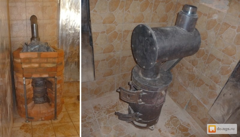 Банная печь своими руками из буржуйки 17