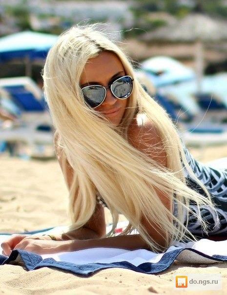 Фото на аву блонди