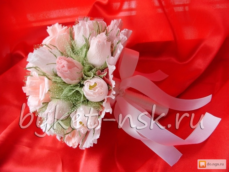 Букет из конфет невесты своими руками