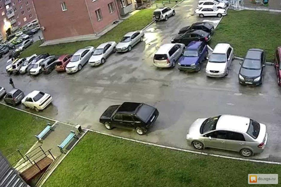 Видеонаблюдение за парковкой во дворе своими руками фото