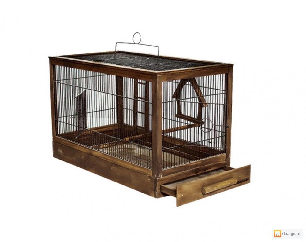 клетка для знакомства птиц