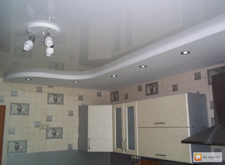 Потолок на кухне своими руками из гипсокартона