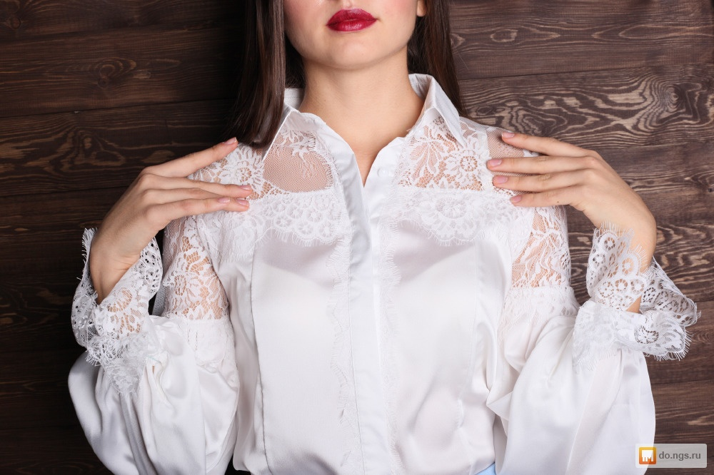 Купить Красивую Белую Блузку В Москве